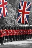 De parade van de Verjaardag van de Koningin Stock Afbeelding