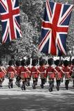 De parade van de Verjaardag van de Koningin Stock Fotografie