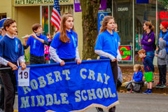 De Parade 2016 van de veteranendag Stock Fotografie