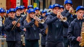 De Parade 2016 van de veteranendag Stock Foto's