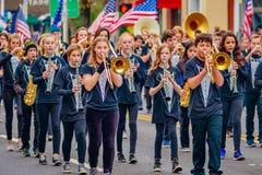 De Parade 2016 van de veteranendag Royalty-vrije Stock Fotografie