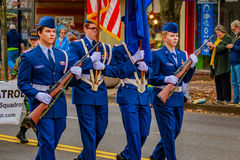 De Parade 2016 van de veteranendag Stock Afbeeldingen