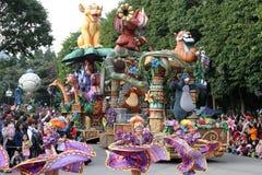 De Parade van Disney Royalty-vrije Stock Afbeeldingen