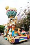 De parade van Disney in Hongkong Stock Afbeeldingen
