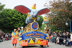 De parade van Disney in Hongkong Royalty-vrije Stock Foto