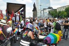 De Parade van EuroPride Stock Afbeeldingen