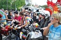 De Parade van EuroPride Royalty-vrije Stock Foto's
