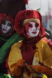 De parade van Gras van Mardi stock afbeelding
