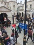 De Parade van Guaqrds van het paard Royalty-vrije Stock Foto's