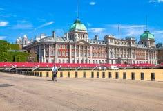 De Parade van Guaqrds van het paard Londen het UK Royalty-vrije Stock Afbeeldingen