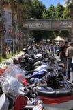 De Parade van Harley-Davidson Stock Afbeelding