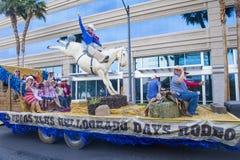 De parade van Helldoradodagen royalty-vrije stock foto's