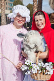 De Parade van het Huisdier van Howl'oween & Huisdier Faire Stock Foto's