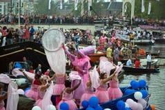 De Parade van het kanaal, Vrolijke Trots 2011 Royalty-vrije Stock Foto