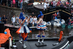 De Parade van het kanaal, Vrolijke Trots 2011 Royalty-vrije Stock Fotografie