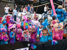 De Parade van het kanaal, Vrolijke Trots 2011 Royalty-vrije Stock Foto's