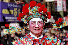 De Parade van het Nieuwjaar van de Chinatown Royalty-vrije Stock Foto's