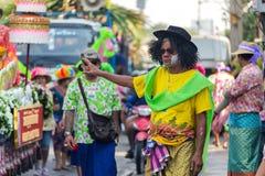 De Parade van het Sonkranfestival Royalty-vrije Stock Foto