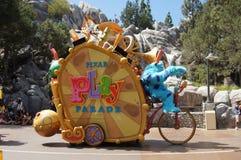 De Parade van het spel in Disneyland Stock Foto