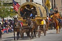 De Parade van Houston Livestock Show en van de Rodeo Royalty-vrije Stock Afbeeldingen