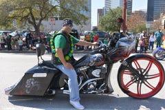 De Parade van Houston St Patrick Royalty-vrije Stock Foto