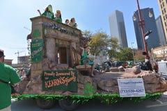 De Parade van Houston St Patrick Royalty-vrije Stock Foto's