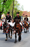De Parade van Junes van Brasov, kan 2011, Roemenië Stock Foto