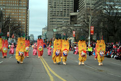 De Parade van Kerstmis in Toronto Royalty-vrije Stock Foto's