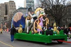 De Parade van Kerstmis in Toronto Royalty-vrije Stock Afbeelding