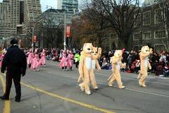 De Parade van Kerstmis in Toronto Stock Fotografie