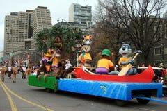 De Parade van Kerstmis in Toronto Stock Afbeeldingen