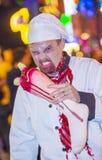 De parade van Las Vegas Halloween Stock Afbeeldingen
