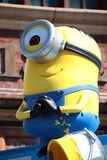 DE PARADE VAN MINION Stock Foto's