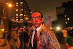 De Parade van New York Halloween Stock Foto
