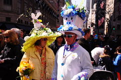 De Parade van New York Pasen en Pasen-Bonnetfestival 2015 Stock Foto