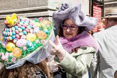 De Parade van NYC Pasen Stock Foto's