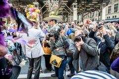 De Parade van NYC Pasen Stock Foto