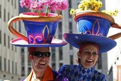 De Parade van Pasen in New York stock afbeeldingen