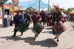 De parade van renaissancefaire Royalty-vrije Stock Foto's