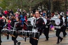 De Parade van Toronto de Kerstman Stock Foto's