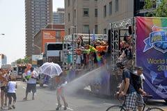 De Parade van Toronto WorldPride Stock Afbeeldingen