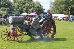 De Parade van tractoridentiteitskaart Stock Fotografie
