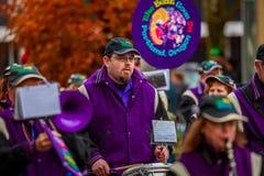De Parade 2017 van de veteranendag Royalty-vrije Stock Afbeeldingen