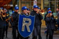 De Parade 2017 van de veteranendag Stock Foto's