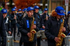 De Parade 2017 van de veteranendag Royalty-vrije Stock Afbeelding
