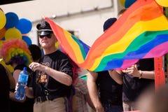 De Parade Warshau 2010 van EuroPride royalty-vrije stock foto's