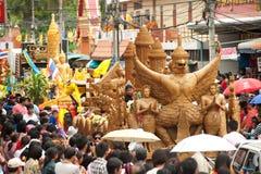De paradefestival van de kaars. Royalty-vrije Stock Fotografie