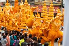De paradefestival van de kaars. Royalty-vrije Stock Foto's