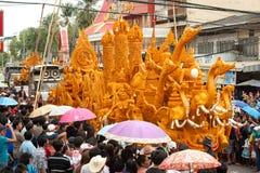 De paradefestival van de kaars. Royalty-vrije Stock Afbeelding