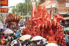 De paradefestival van de kaars. Royalty-vrije Stock Afbeeldingen